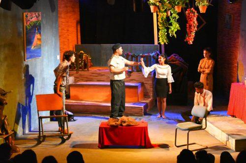 मण्डला थिएटरमा नाटक 'झिमिक झिमिक झ्याप्प'